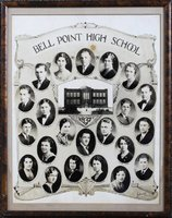 Bell Point High School Class Picture 1932