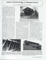 Unique Covered Bridge in Delaware County (p. 1)