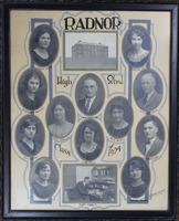 Radnor High School Senior Class Picture 1924