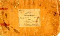 Cemetery Record Galena & Berkshire Cemetery (p. 1)